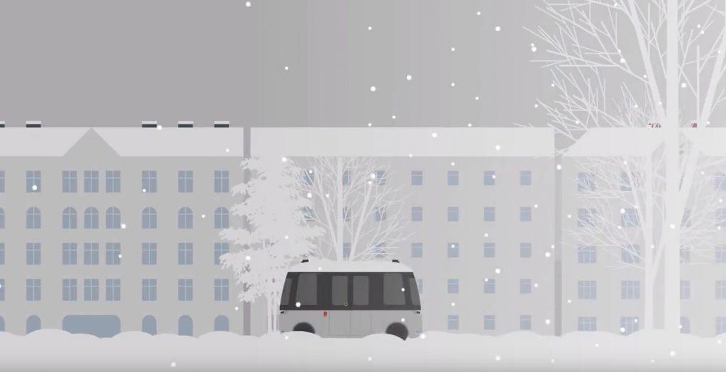 无印良品参与的自动驾驶巴士已经在芬兰首都赫尔辛基发布
