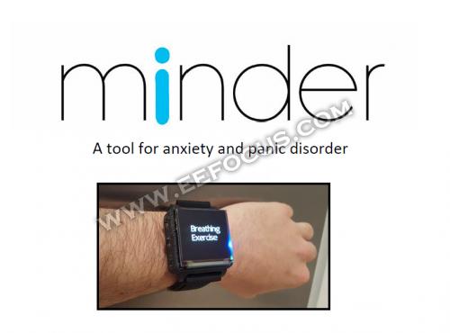 大学生为焦虑和恐慌症患者设计开源智能手表
