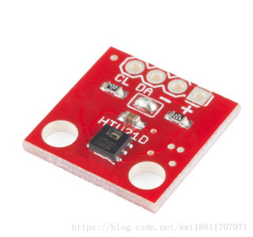 STM32驱动温湿度传感器HTU21D