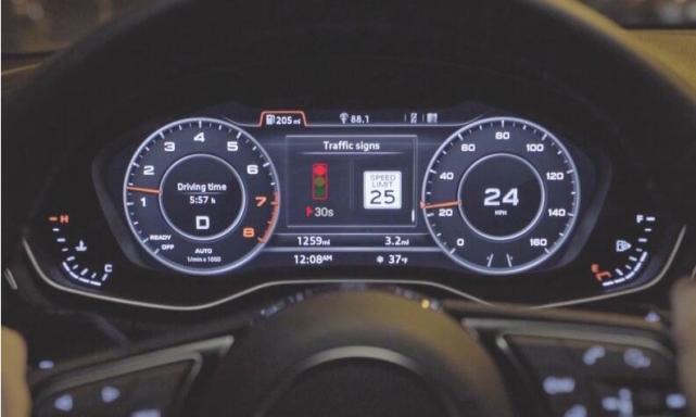 奥迪新技术:可成功规避红灯 提供最好的速度优化