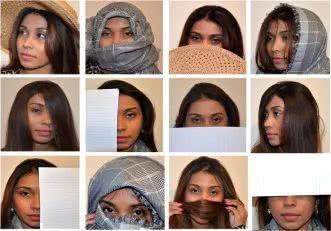 鬼都藏不住,人臉識別新突破!就算遮住半張臉也能100%被識別