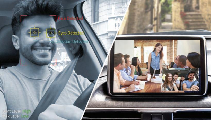 黑科技,前瞻技术,OmniVision,OmniVision双模车用图像传感器,双模车用图像传感器,驾驶员监控传感器,汽车新技术