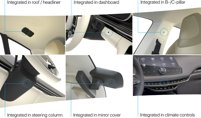 Preh為汽車溫度傳感器配CAN接口 可安裝在車輛任何位置