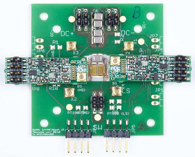 电动汽车,黑科技,前瞻技术,弗劳恩霍夫应用固体物理研究所,弗劳恩霍夫IAF,GaN集成电路,GaN芯片集成多个元件