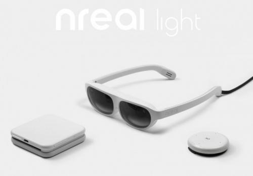 nreal作为中国初创企业新推出低价混合现实设备