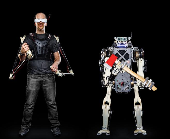 人类反应与机器的浑然一体—营救机器人诞生