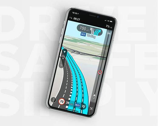 TomTom,TomTom GO Navigation,TomTom Traffic,TomTom Speed Cameras,实时导航,离线更新