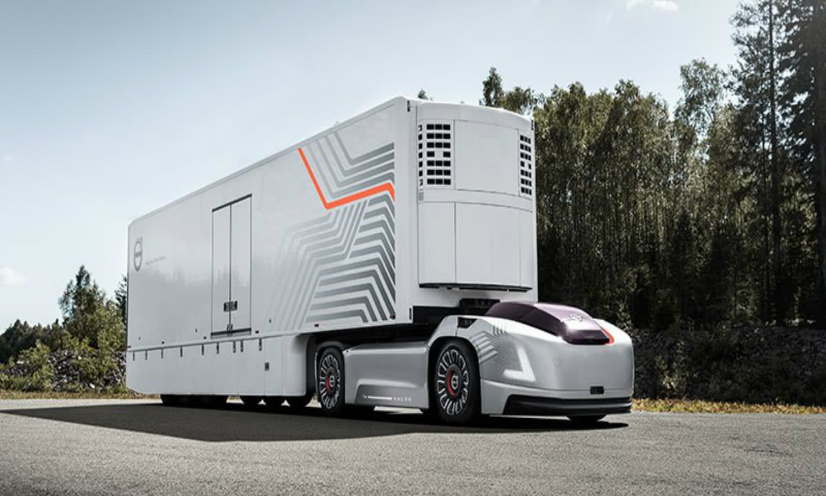 沃爾沃自動駕駛商用卡車即將上路,推動港口物流發展