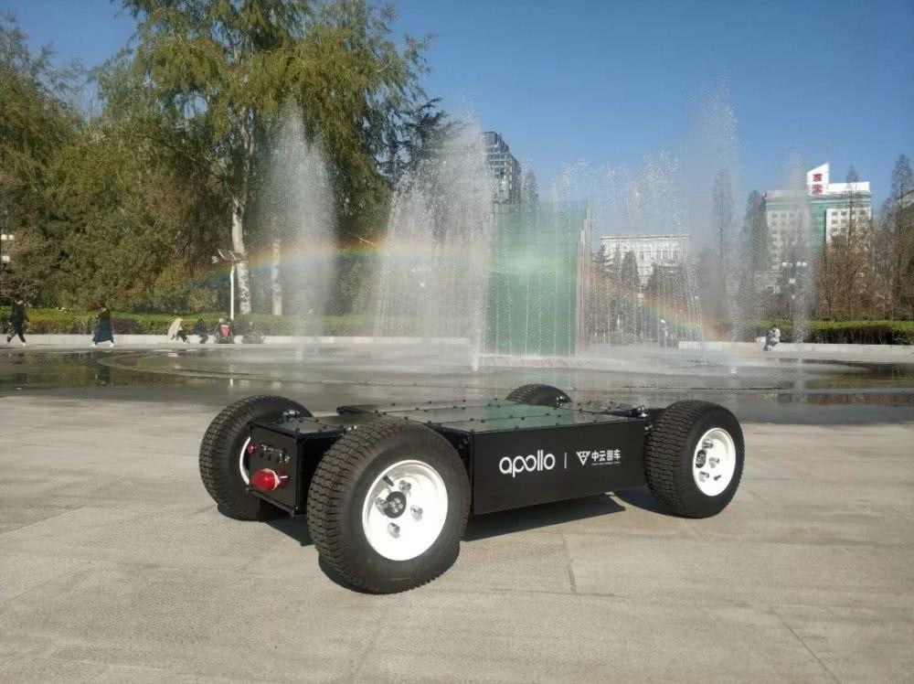 中云智車無人車通用線控底盤,通過百度Apollo車輛認證