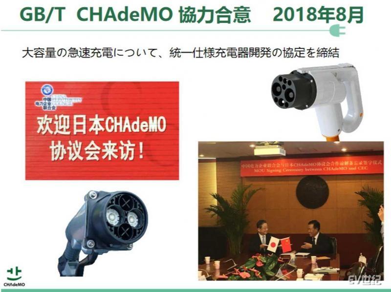 CHAdeMO与中国共同制定新标准即将落地