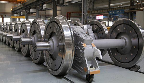 在机测量实现高铁轮对生产线上的实时质量控制