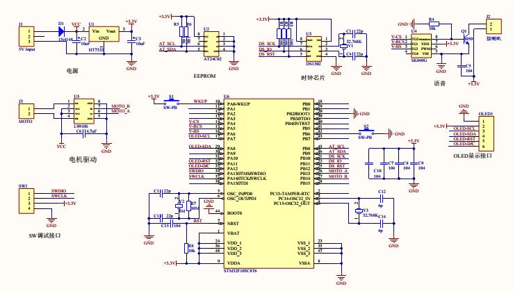 STM32F103C8T6低功耗测试(待机模式)