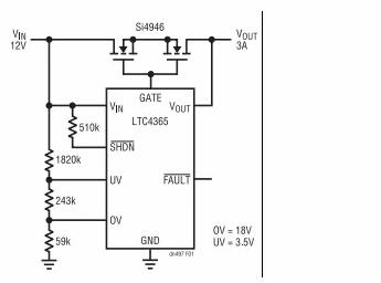 技术文章:怎样为敏感电路提供过压及电源反接保护