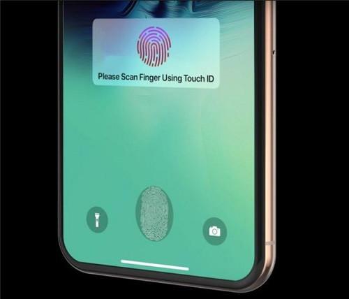 蘋果新專利曝光 或將支持全屏指紋解鎖
