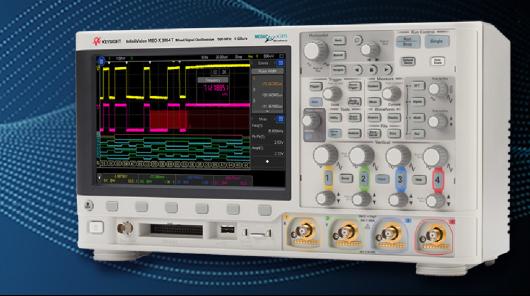 Keysight 3000T X示波器系列卓越性能评测