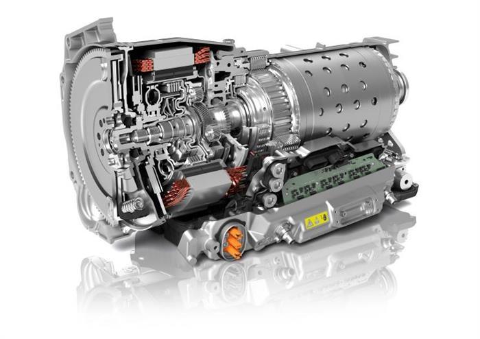 采埃孚設計出新一代8擋混動自動變速器