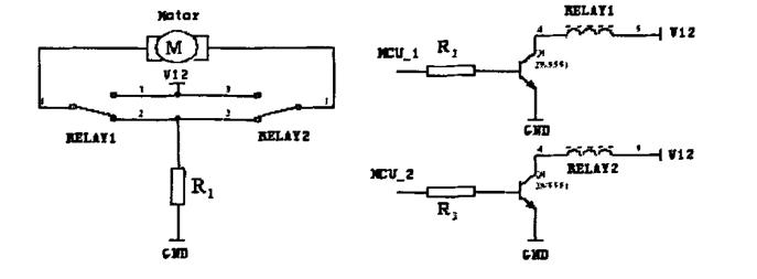 图四:直流电机的驱动