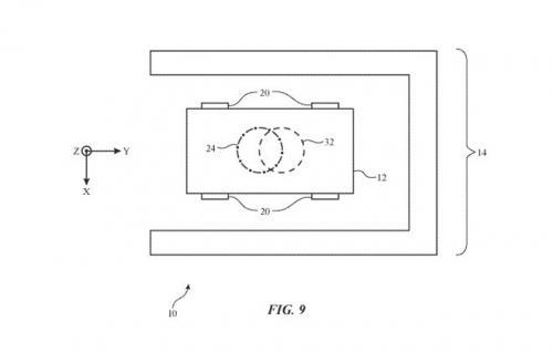 蘋果公布自動駕駛汽車的無線充電系統專利,野心勃勃