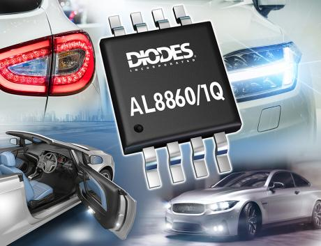 汽车LED驱动器,车辆照明,模拟调光