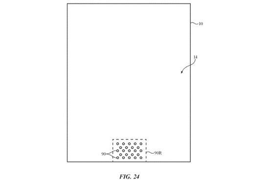 """专利显示将来iPhone或拿掉屏幕上的""""刘海"""""""