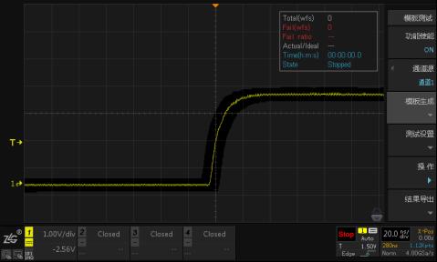 技術文章—示波器模板測試功能及其應用