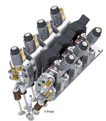 瑞士Empa开发电动液压气门总成 可节省燃油高达20%
