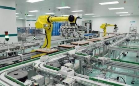 工厂制造车间的弹性网络