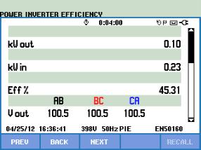 D:PeterFluke仪器资料430Ⅱ应用文章新能源逆变器效率测试Screen2.bmp