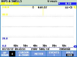 D:PeterFluke仪器资料430Ⅱ电压暂降数据Screen6.bmp