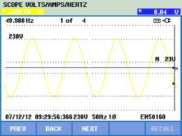 D:PeterFluke仪器资料430Ⅱ电压暂降数据Screen4.bmp