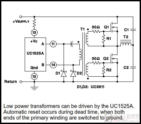 技术文章—什么是变压器驱动半桥