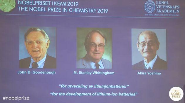 2019诺贝尔化学奖给了锂电池,他们创造了一个可充电的世界