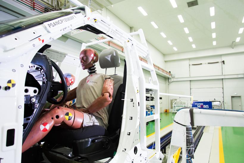 现代摩比斯研发汽车安全装置集成模块 保护乘客安全