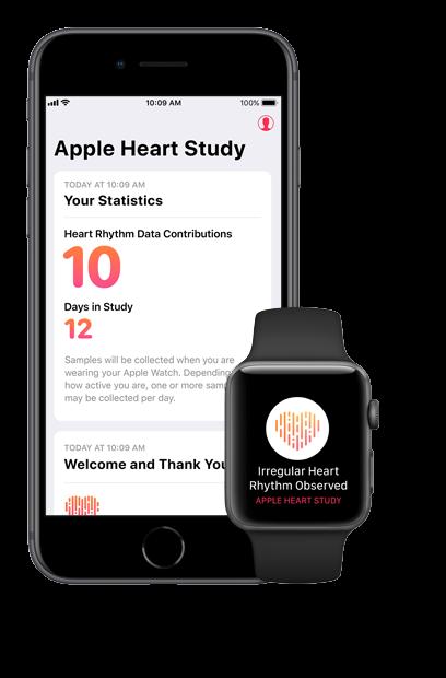研究显示Apple Watch可检测心率异常 但专家存疑问