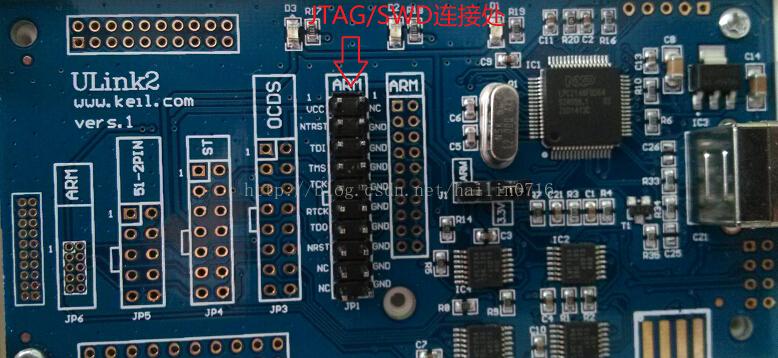 使用Ulink2的JTAG与SWD 调试stm32 区别