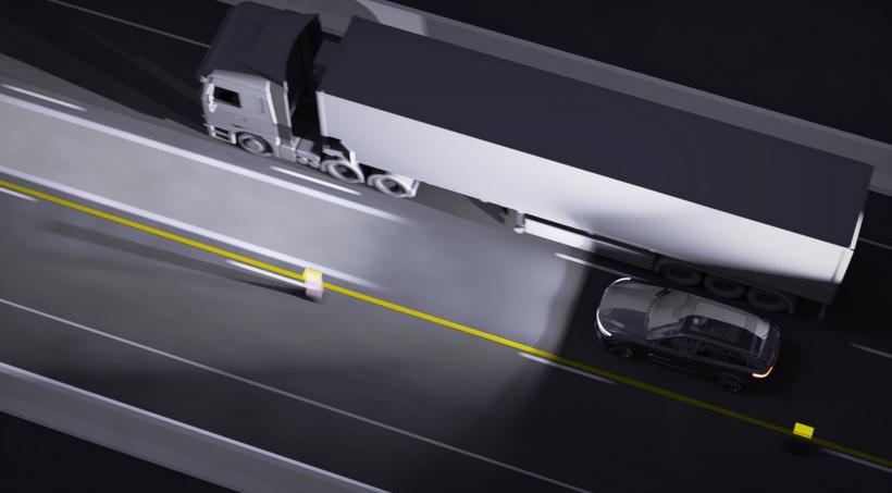 海拉推出高分辨率照明系统 为行人投影保护区域提升行车安全