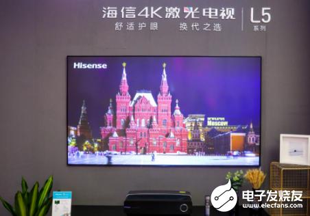 海信激光电视抢眼 继续引领全球彩电产业