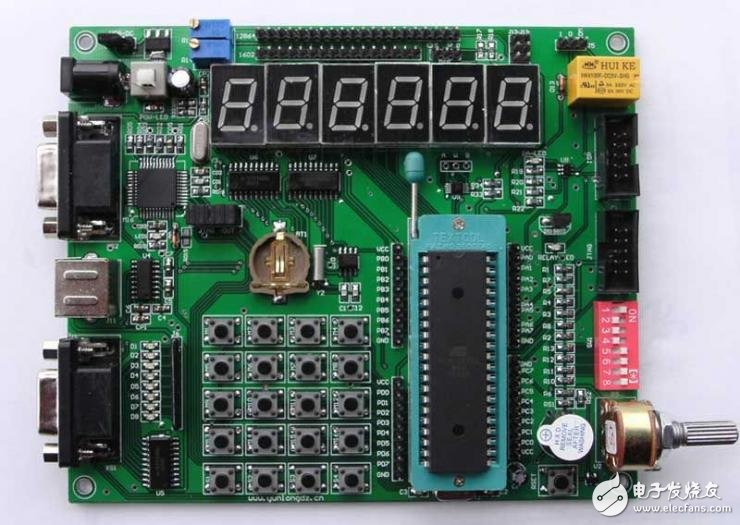 PIC单片机4×4行列式键盘的工作原理解析