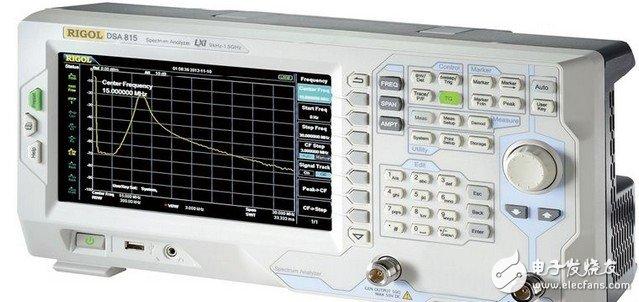 图1:RIGOL 的DSA815-TG频谱分析仪