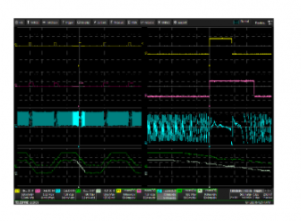 基于MDA810电机驱动分析仪的电机驱动和交互控制测试