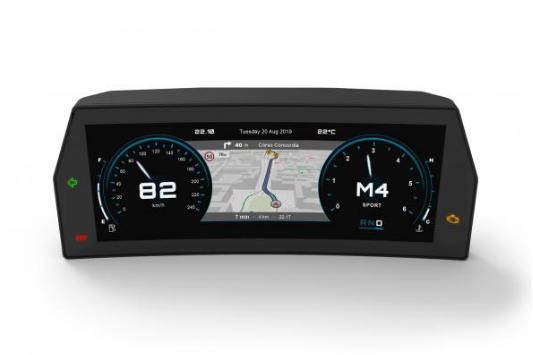 MTA推出高性能曲面仪表板 可按需定制