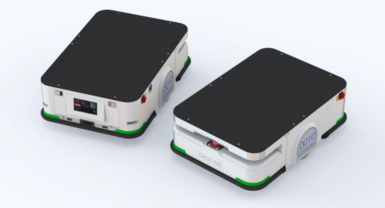 基于5G打造激光导航AGV新模态