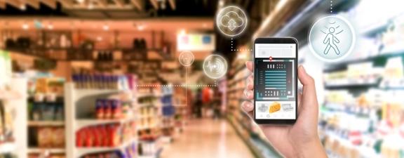 配备多个传感器的智能商店让购物变得轻而易举