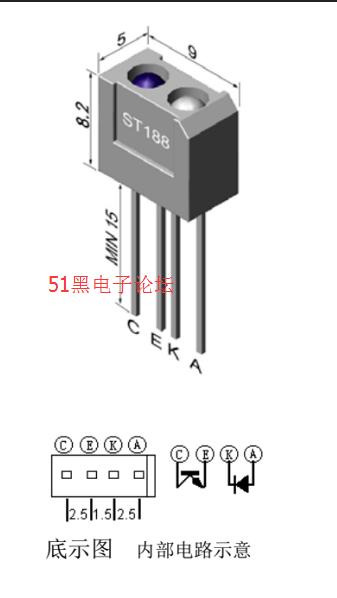 单片机与st188制作的心率测试仪全套设计