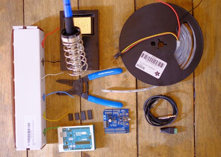 声控LED频谱分析仪的制作