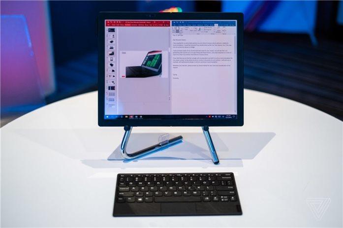 CES 2020:联想ThinkPad X1 Fold亮相,可折叠屏幕