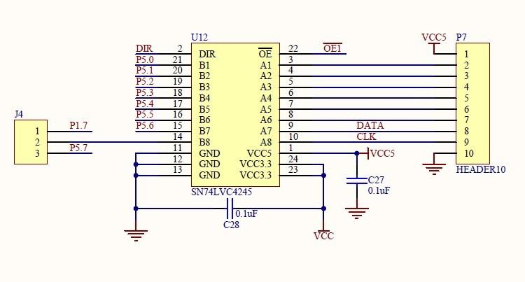 MSP430电平转换