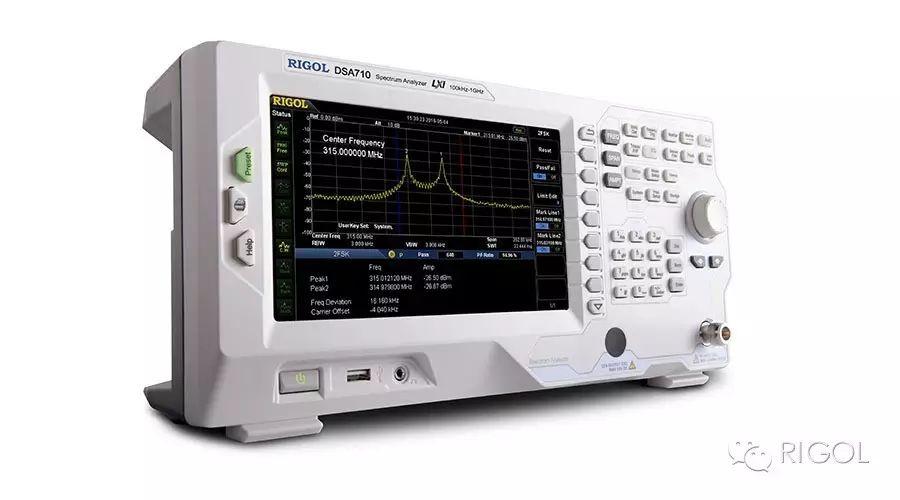 关于普源DSA700DSA815频谱分析仪的功能分析和介绍