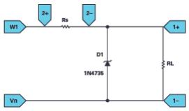 什么叫齊納二極管穩壓器