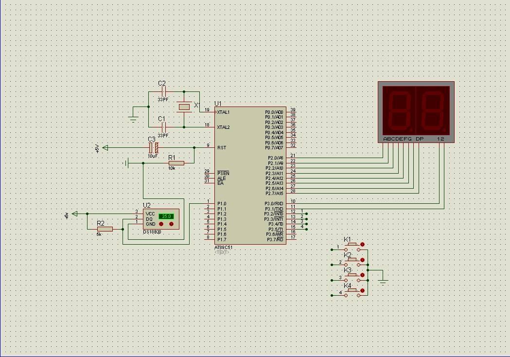 基于PIC单片机控制温度传感器测温的设计